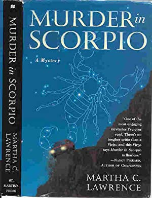 MURDER IN SCORPIO (SIGNED): Lawrence, Martha C.