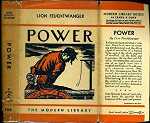 POWER (Jud Süß) ML# 206.1, SPRING 1937,: FEUCHTWANGER, LION, Written