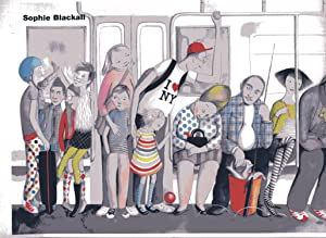 MISSED CONNECTION: MTA NEW YORK SUBWAY POSTER, NEW YORK CITY by SOPHIE BLACKALL SIGNED (2015) POS...