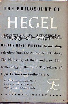 THE PHILOSOPHY OF HEGEL: ML# 239.2, 1954/Spring;: HEGEL Georg Wilhelm