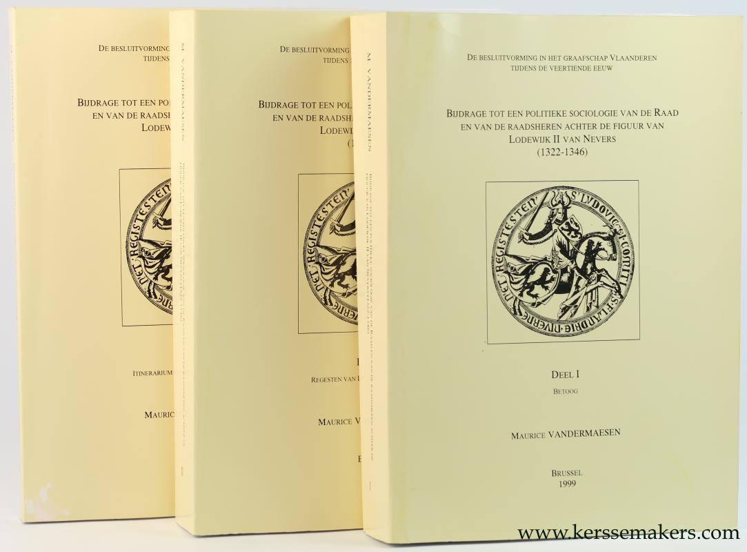 De besluitvorming in het Graafschap Vlaanderen tijdens de veertiende eeuw. Bijdrage tot een politieke sociologie van de Raad en van de Raadsheren ach