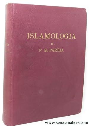 Islamologia.: PAREJA, F. M.