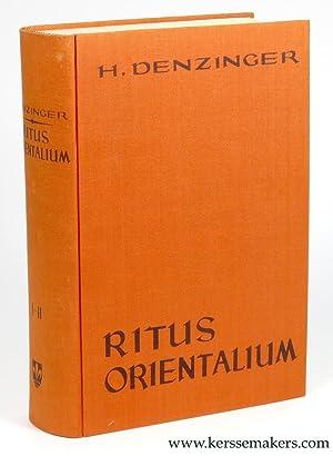 Ritus Orientalium coptorum syrorum et armenorum in: DENZINGER, Henricus.