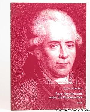 Über Physiognomik wider die Physiognomen. Zur Beförderung der Menschenliebe und ...