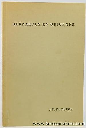 Bernardus en Origenes. Enkele opmerkingen over de: Deroy, J.P. Th.