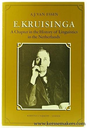 E. kruisinga. A Chapter in the History: Essen, A.J. van.