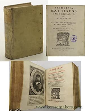 Geometria a Renato Descartes Anno 1637 Gallicè: Descartes, Rene.