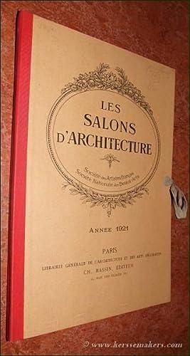 Les Salons d'Architecture. Société des Artistes Français.: SALONS D'ARCHITECTURE: