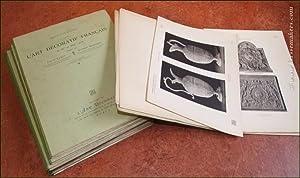 Documents sur l'art décoratif français du IXme: LUMET, LOUIS. &