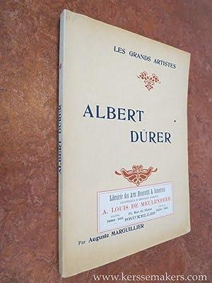Albert Dürer. Biographie critique. Illustrée de vingt-quatre: MARGUILLIER, AUGUSTE.