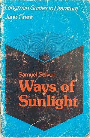 Longman Caribbean Writers Series Ways of Sunlight