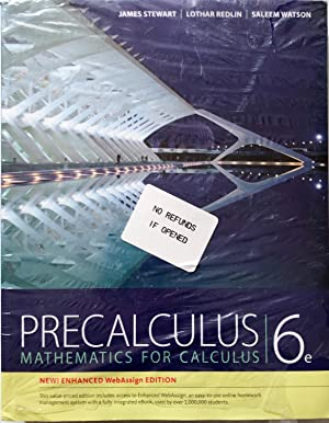 Precalculus, WebAssign Edition (with WebAssign Printed Access: James Stewart; Lothar
