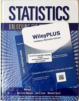 Statistics: Unlocking the Power of Data 1e: Patti Frazer Lock;