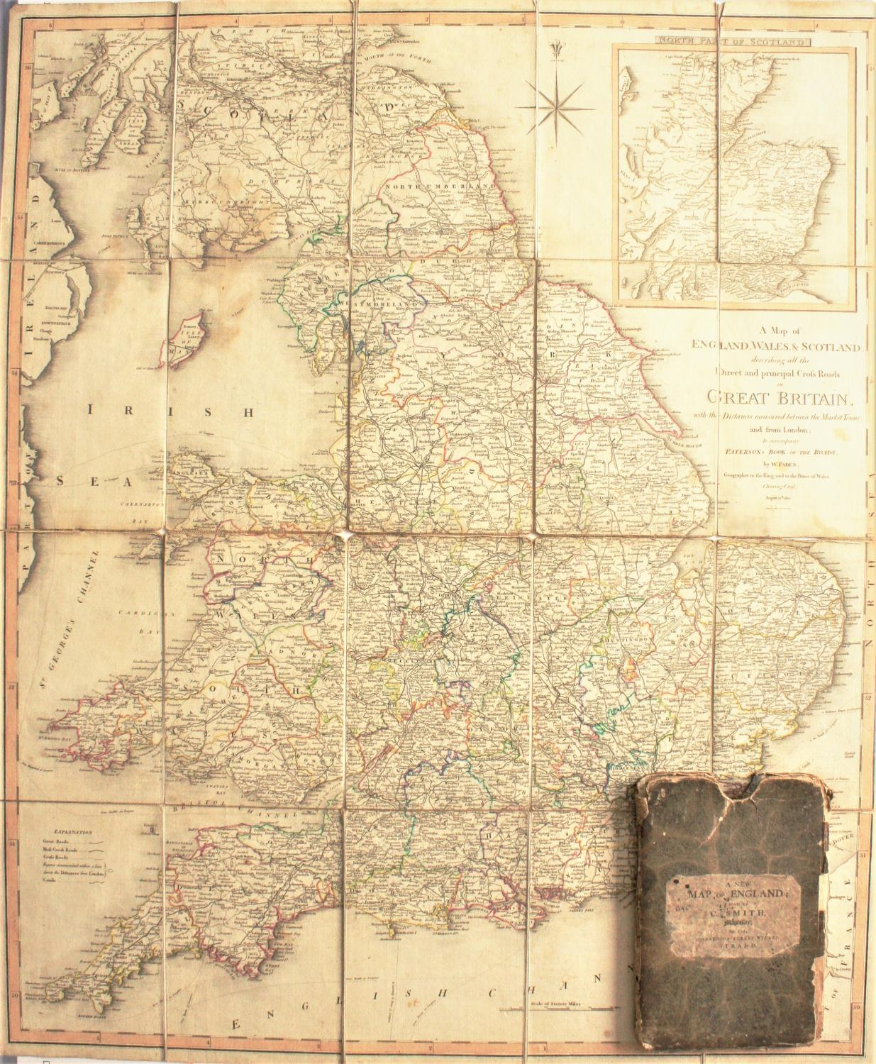 Full Map Of England.A Map Of England Wales And Scotland