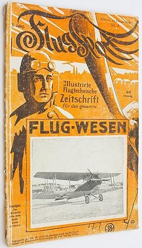 Flugsport Illustrate Flugtechnische Zeitschrift fur Das Gesammte