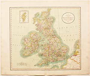 A New Map of The British Isles From The Latest Authorities