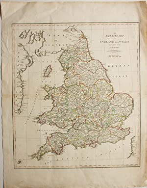 An Accurate Map of England and Wales from the Best Authorities