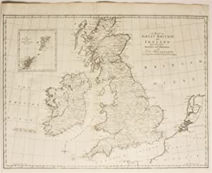 A Map of Great Britain and Ireland from the latest Authorities and Observations