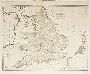 A Map of England and Wales from the latest Authorities and Observations