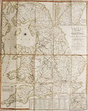 Smith's New Map of The Navigable Canals and Rivers of England, Wales and Scotland