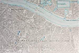 Ordnance Survey Large Scale Map of the Region around Tower Bridge and London Bridge Station: Edit...