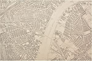 Ordnance Survey Large Scale Map of the Region around Sands End and Battersea: Edition of 1916