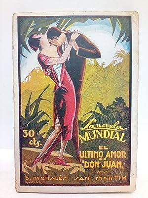El último amor de Don Juan / Ilustraciones de Rodolfo Kriz: MORALES SAN MARTIN, B.