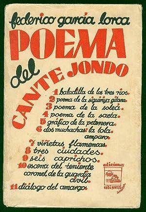Poema del Cante Jondo: GARCIA LORCA, Federico