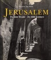 Jerusalem: In 3000 Years / In 3000: Gidal, Nachum Tim