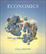 Economics: Sixth Edition: Colander, David