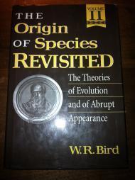Origin of Species Revisited, Volume II, The : Philosophy of Science, Philosophy of Religion, ...