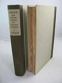 Travel-Diaries of William Beckford of Fonthill, The (2 Volumes): Chapman (Edited by), Guy