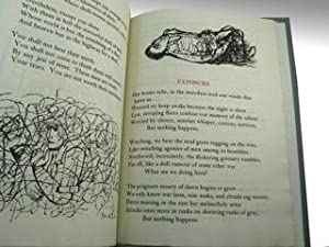THIRTEEN POEMS BY WILFRED OWEN: With Drawings by Ben Shahn. Printed at the Gehenna Press in ...