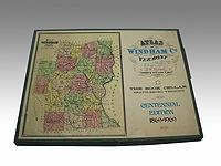 Atlas of Windham County, Vermont - From Actual Surveys by and under the Direction of F. W. Beers, ...