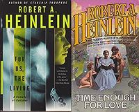 For Us the Living, Expanded Universe, Time: Heinlein, Robert A.