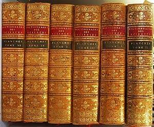 Recueil de Planches sur les Sciences les: Diderot, Denis and
