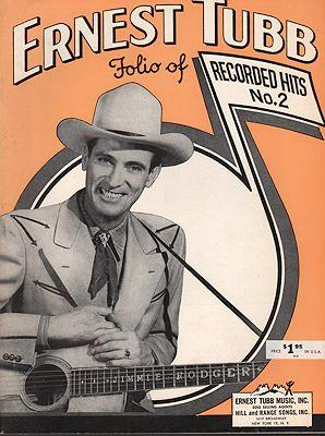 Ernest Tubb Folio of Recorded Hits No.2
