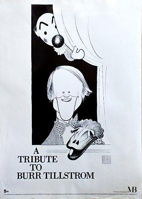 Tribute to Burr Tillstrom, A (Museum of Broadcasting Poster)