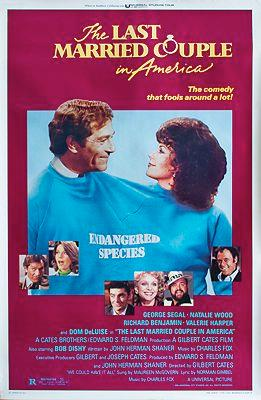 Last Married Couple in America, The (MOVIE POSTER)