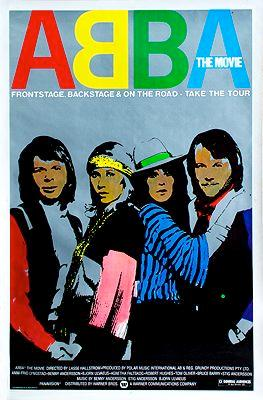 Abba: The Movie (MOVIE POSTER)