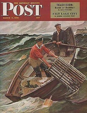 ORIG VINTAGE MAGAZINE COVER/ SATURDAY EVENING POST: Schaeffer (Illust.), Mead