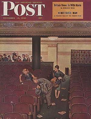 ORIG VINTAGE MAGAZINE COVER/ SATURDAY EVENING POST: Dohanos (Illust.), Stevan