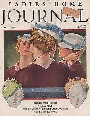 ORIG VINTAGE MAGAZINE COVER/ WOMANS HOME COMPANION: Spreter (Illust.), Roy