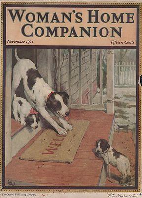 ORIG VINTAGE MAGAZINE COVER/ WOMAN'S HOME COMPANION: Davis (Illust.), Warren