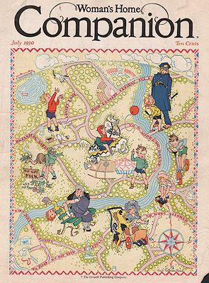 ORIG VINTAGE MAGAZINE COVER/ WOMAN'S HOME COMPANION: Marsh (Illust.), Lucile