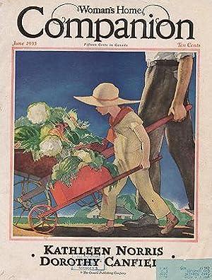 ORIG VINTAGE MAGAZINE COVER/ WOMAN'S HOME COMPANION: Hollingsworth (Illust.), Will