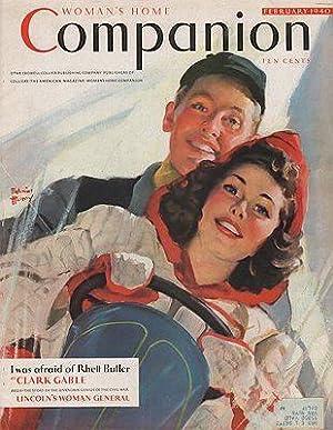 ORIG VINTAGE MAGAZINE COVER/ WOMAN'S HOME COMPANION: Henry (Illust.), Edwin
