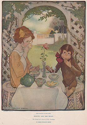 ORIG VINTAGE MAGAZINE ILLUSTRATION/ COLLIER'S MAY 30 1908