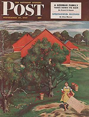 ORIG. VINTAGE MAGAZINE COVER/ SATURDAY EVENING POST - SEPTEMBER 27 1947