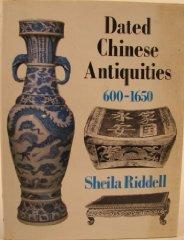 Dated Chinese Antiquities: 600 To 1650